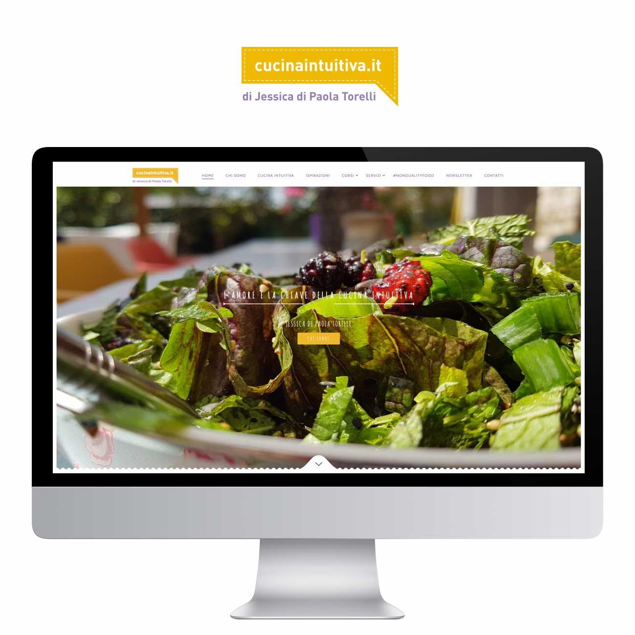 web design Cucina Intuitiva