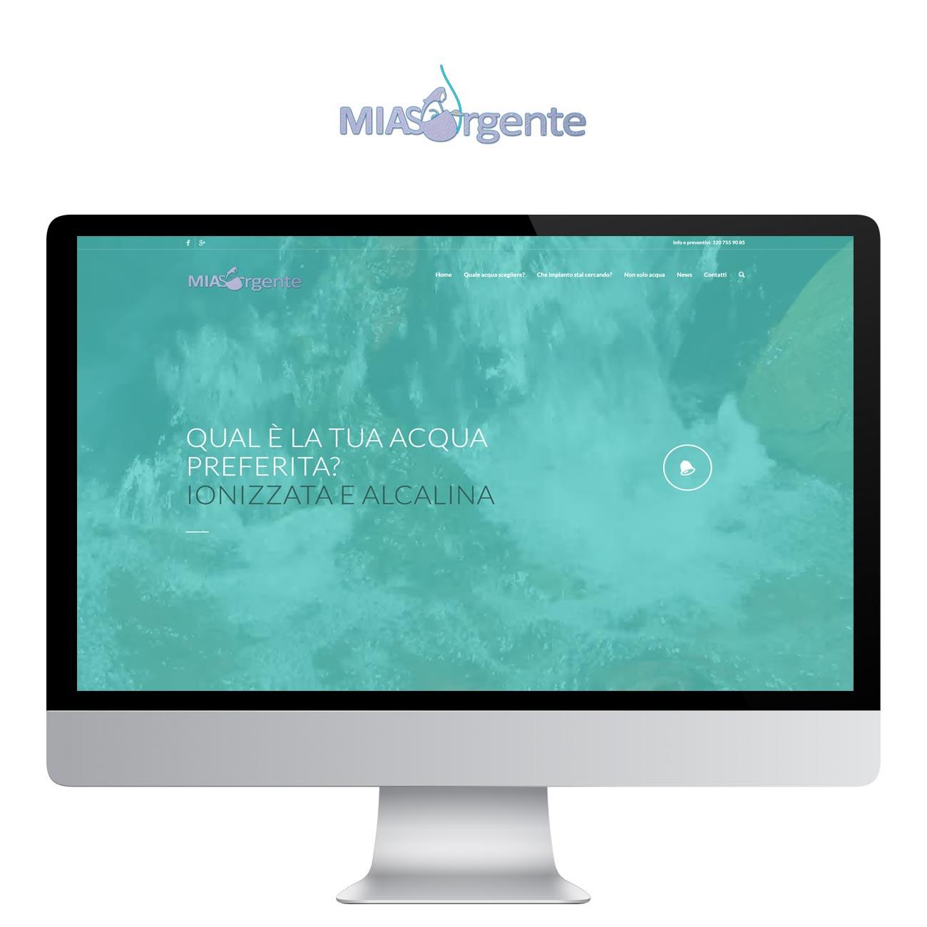 web design Mia Sorgente
