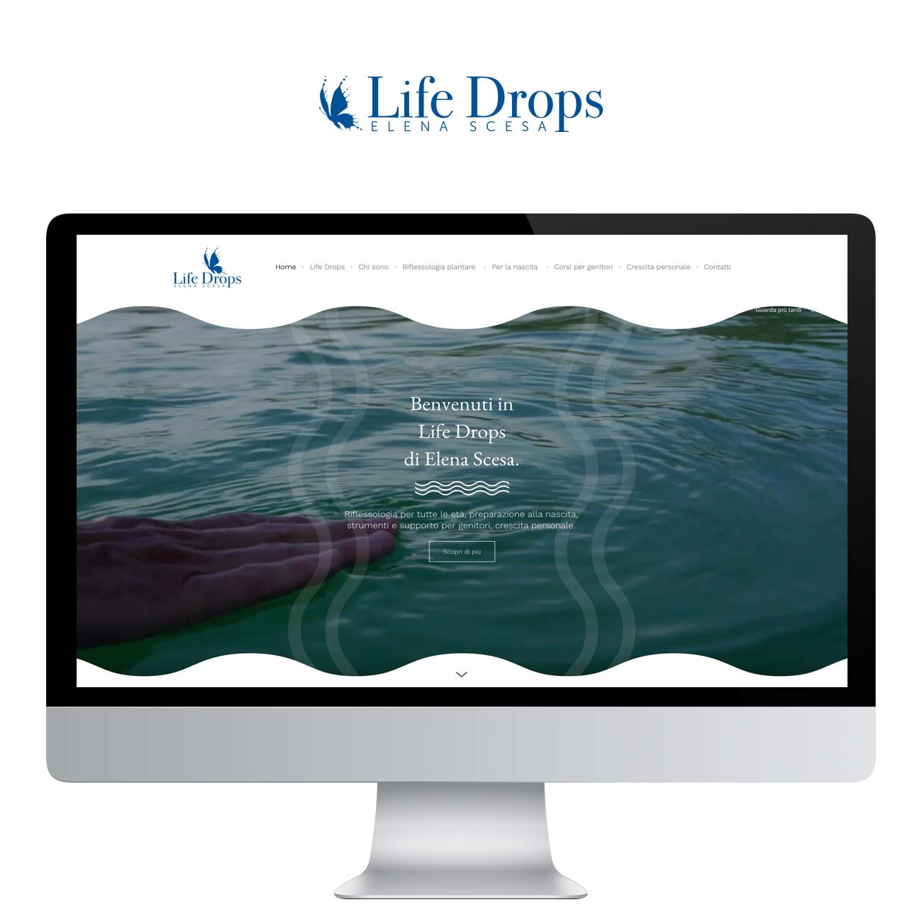 web design Life Drops